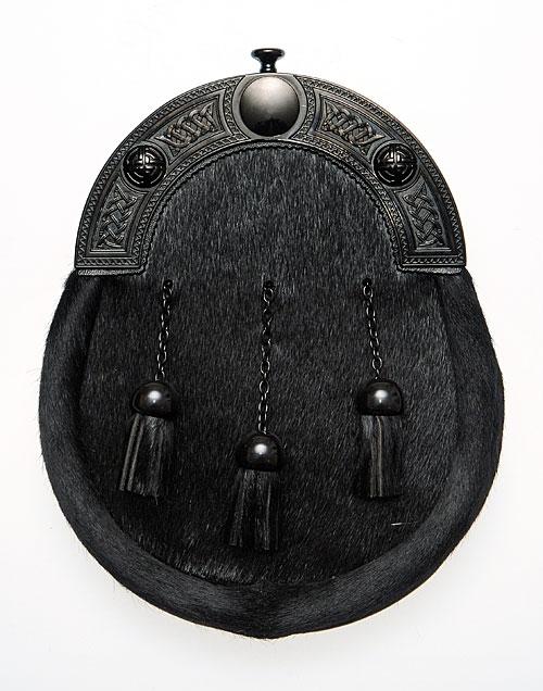 Black Top Dress Sporran